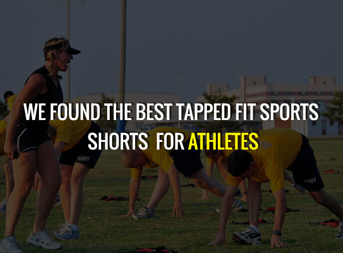 Tapped fit sports shorts